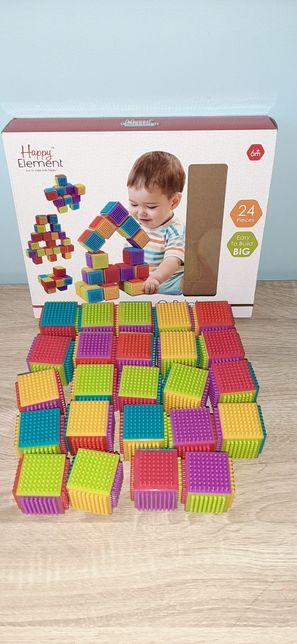 Klocki 24szt. Q Bricks Happy Element 6m+