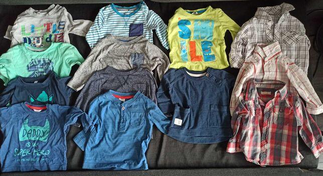 Paka ubrań dla chłopaka r 68-74