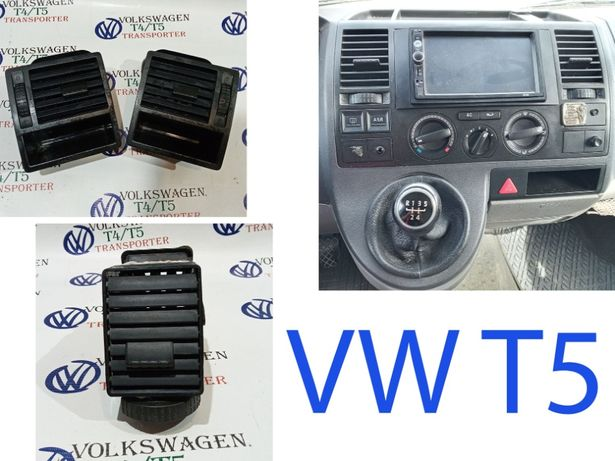 Дефлектор дуйчик Воздушная решетка Фольксваген Т5 VW Volkswagen t5 03-