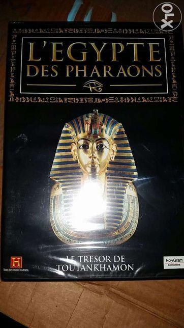 O tesouro de Toutankamon. Dvd. Novo e ainda plastificado.