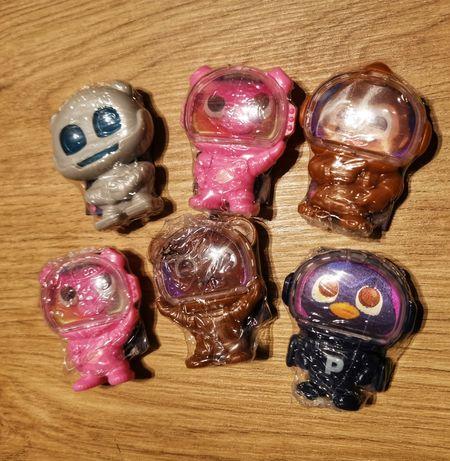 Robot milka secret box figurki zestaw 6szt nowe