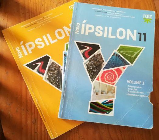 Novo Ípsilon 11 - Matemática A - 11.º ano