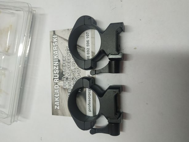 Montaż optyka RIS 22 sztucer karabin