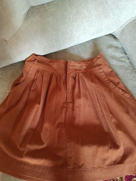 Продам юбку мелкий вельвет