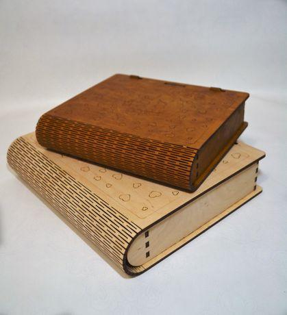 Деревянный Book box