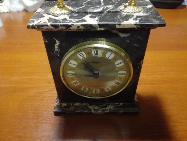 Часы каминные настольные мрамор кварц
