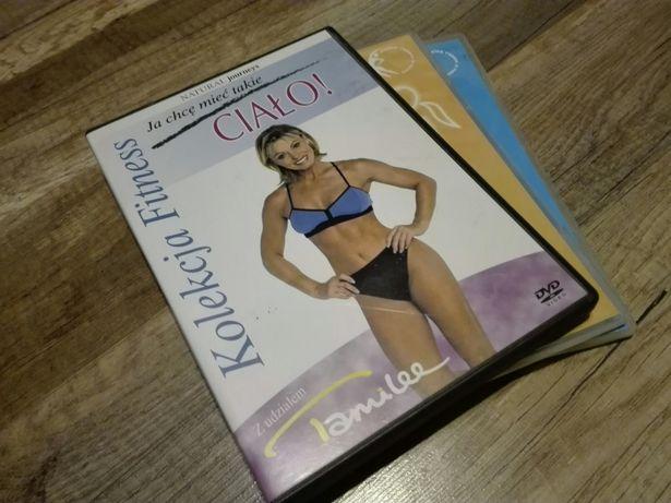 Płyty o odchudzaniu fitness kolekcja 3 płyt