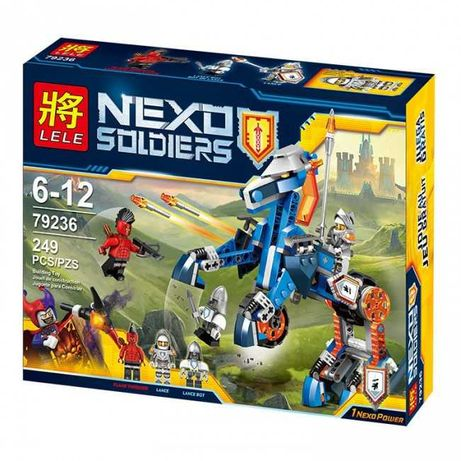 Конструктор Нексо Найтс  Nexo Knights Механический конь 249 дет, лего