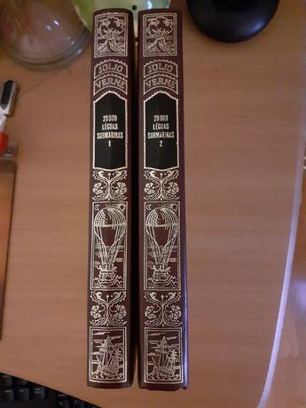 Colecção de Livros de Julio Verne