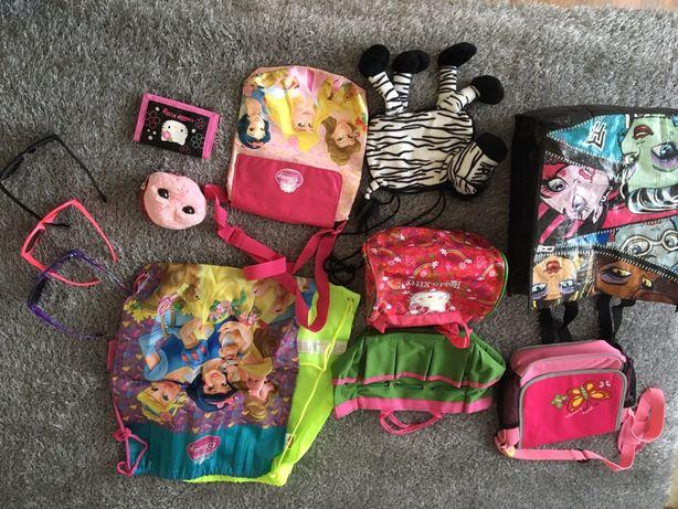 Mega zestaw torebek, portfeli, okularów w tym Rayban dziewczynka!