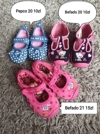 Buty dla dziewczynki 19-21 rozmiar