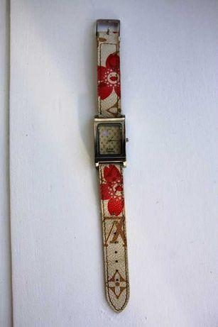 Relógio original LOUIS VUITTON bracelete estragada