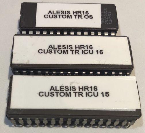Alesis HR 16 drumachine automat perkusyjny chipOS2.0  convert to Hr16B