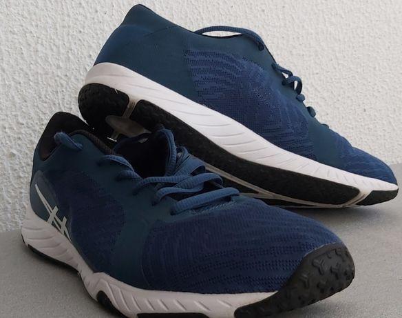 Ténis Merrell azuis/ Asics azuis