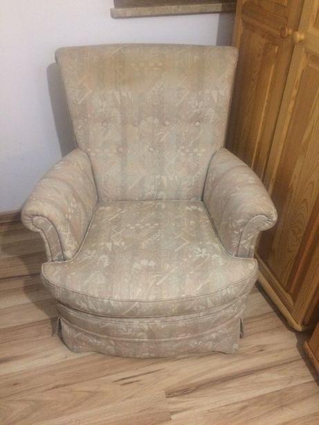Stylowy fotel do salonu, sypialni.