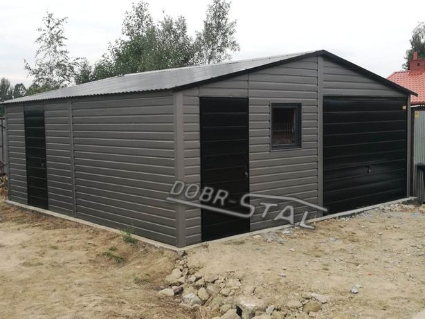 Garaż 6x6 Akryl, Poziom, PROFIL, Okno
