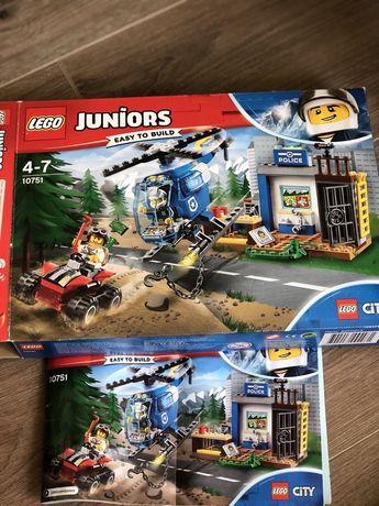 Lego 10751 горный полицейский участок