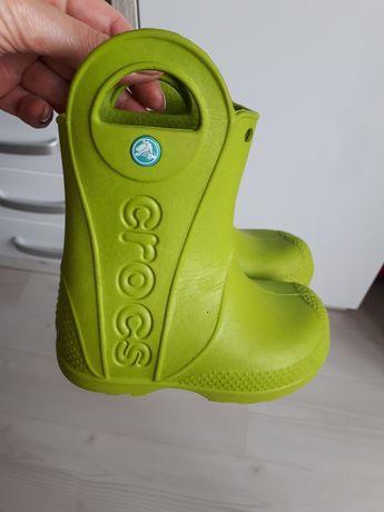 Резиновые сапоги crocs c 7