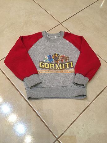 Bluza chłopięca ubranie Gormiti 104 figurki gormiti
