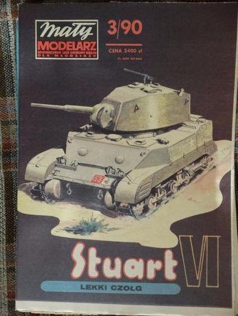 Czołgi - modele kartonowe