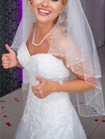 Suknia ślubna - Sincerity Bridal 3771 GRATIS 2 welony stan bdb