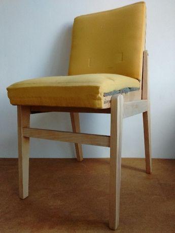 Krzesło tapicerowane PRL
