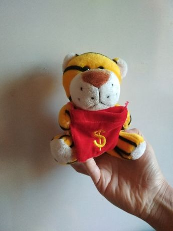 игрушка тигр, мягкая, рычит, отличное состояние