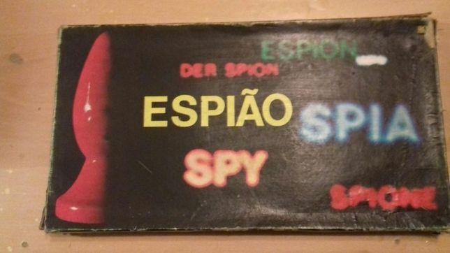 Jogo de tabuleiro antigo Espião anos 80s