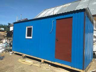 Бытовка,строительний вагончик, пост мобильный офис, строительний Калиновка - изображение 1