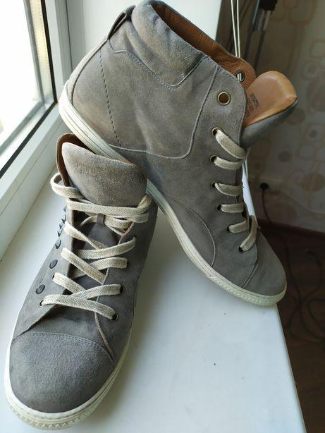 Кеды 41 р. Австрия высокие крассовки ботинки Грин пауэр