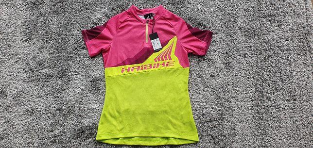 554- HAIBIKE koszulka tshirt na rower NOWAniemiecka jakosc krótkiRĘKAW