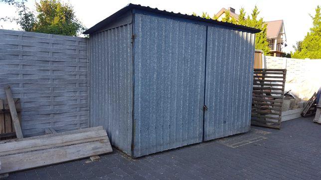 Blaszak garaż schowek  na  budowę