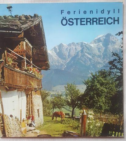 Винтажный буклет туристический Австрия