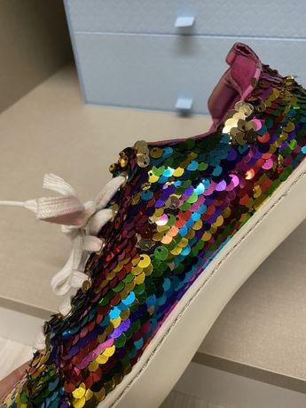 Sapatilhas lantejoulas multicolor aldo