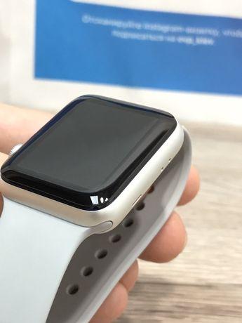 Стекло 3D-5D полный клей Apple Watch скло iWatch 38/40/42/44mm часиков