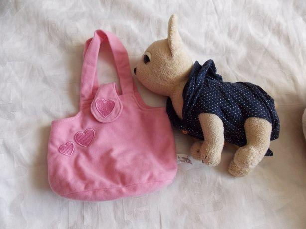 Мягкая игрушка Собачка с сумочкой