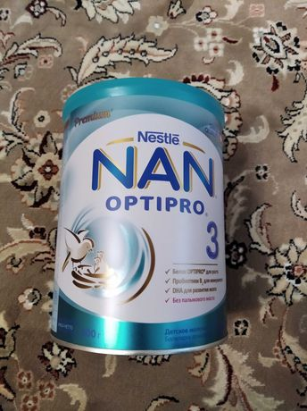 Суха молочна суміш Nestle NAN 3 Optipro (800гр.)