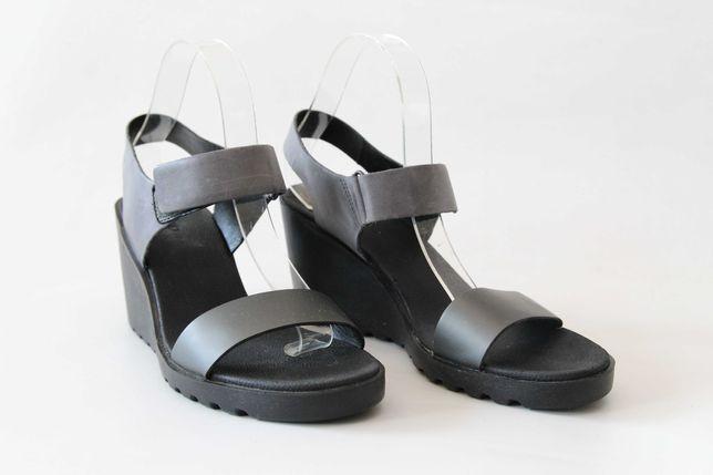 ECCO - skórzane sandały IDEALNE 41 (26,8 cm)