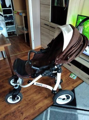 wózek dziecięcy 3w1 plus gratisy