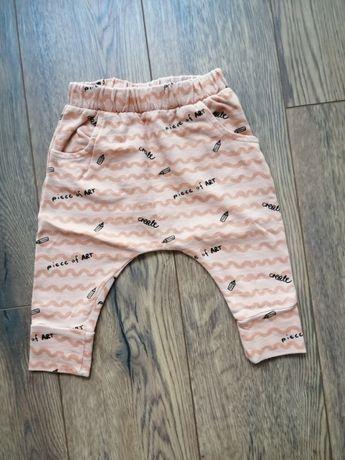 Spodnie niemowlęce Reserved r. 68