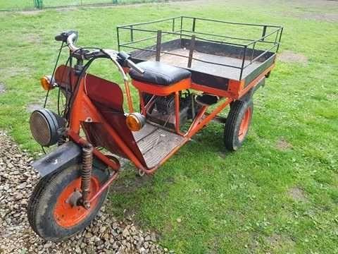 Wózek rydwan Dezamet 3-biegowy