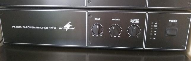 Radiowęzłowy wzmacniacz mocy Monacor PA-900S
