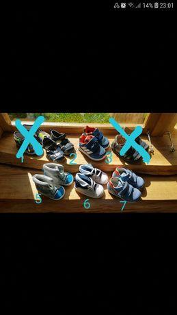 Buty chłopięce rozmiary od 18 do 20