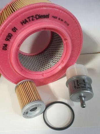 Hatz zestaw filtrów 1D60, 1D80, 1D81, 1D90 Wacker Weber Ammann Dynapac