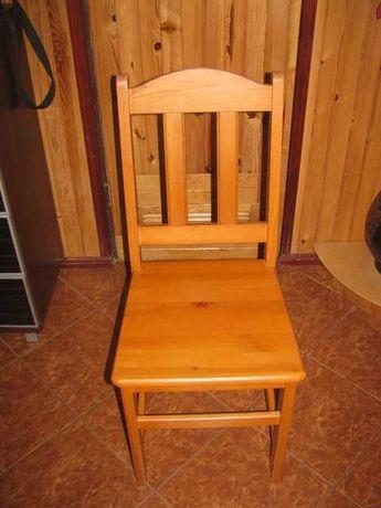 Krzesła drewniane kuchenne