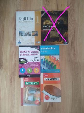 Lektury, książki i podręczniki szkolne
