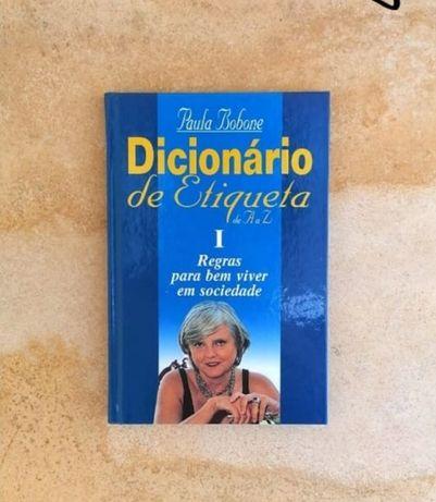 """Livros """"Dicionário de Etiqueta"""""""