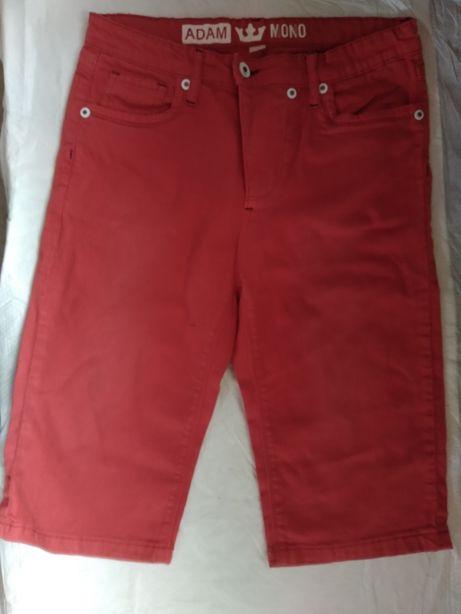 шорты бриджи красные