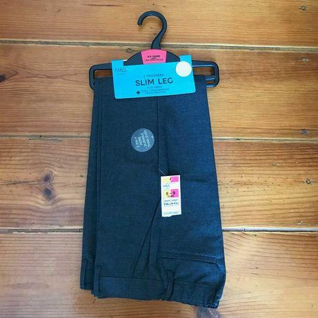2 calças de uniforme / uniform trousers 8-9 (134 cm) - NOVAS!