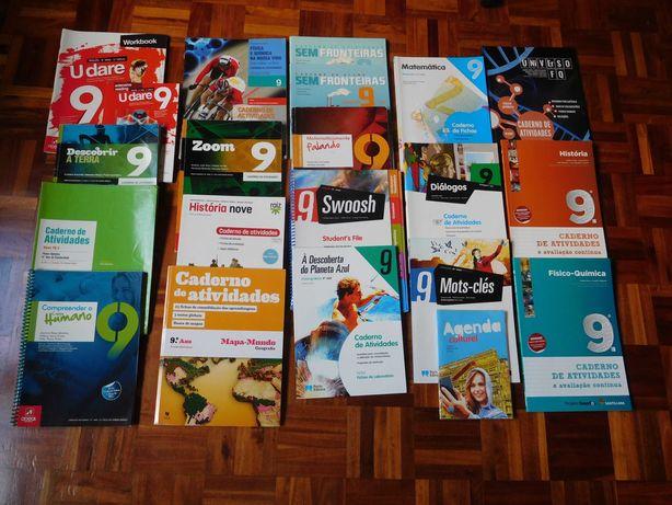 Manuais/Cadernos Actividades/Exercícios 5º 6º 7º 8º 9º 10º 11º 12º